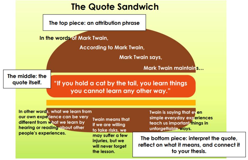 quote sandiwch